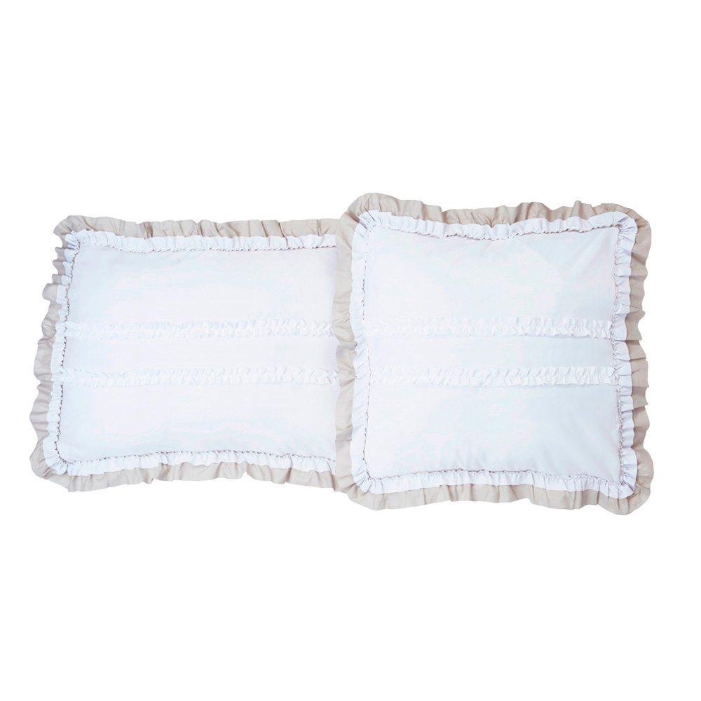 Velutti - Set Funda Cojin Julieta Blanco